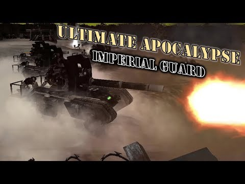 Imperial Guards of the 8th Valerian Take on Chaos Daemons   Ultimate Apocalypse