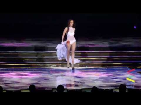 Miss Manila 2015 Top 15 Swimsuit Competition