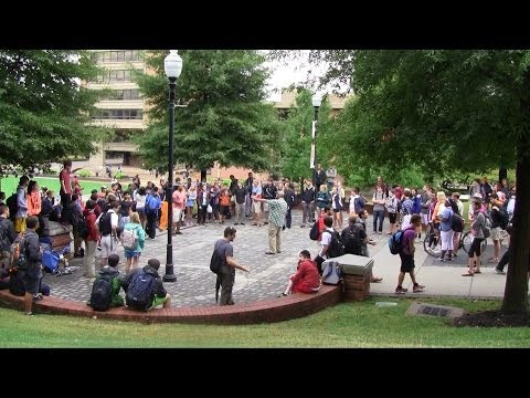 University of Tennessee at Knoxville - Day #1 | Open Air Preaching | Kerrigan Skelly