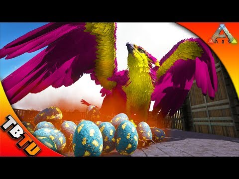 FULLY MUTATED GRIFFIN! ARK GRIFFIN BREEDING MOD! GRIFFIN COLOR MUTATIONS! Ark Survival evolved