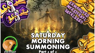 SUMMONERS WAR : Saturday Morning Summons - 200+ Mystical & Legendary Scrolls - (10/31 part 4)