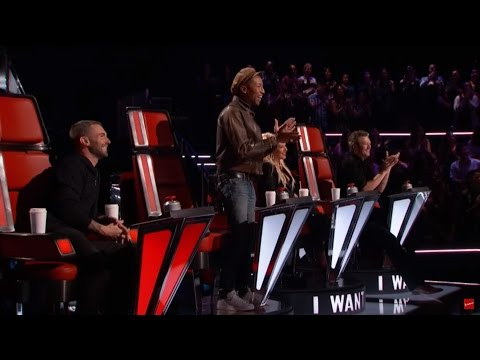Nick Hagelin - Lost Stars - The Voice 2016 Blind Audition