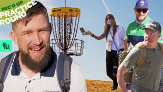 Sexton refuses to play thru Jerm & Uli | LVC Front 9 | Mic'd Up Practice Round | JomezPro