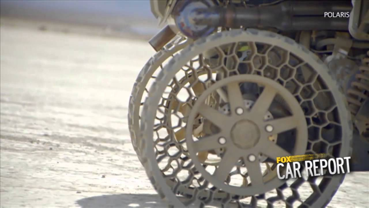 Army Vehicles For Sale >> Airless tires - YouTube