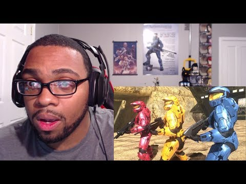 Red vs Blue Season 7: Episode 8-10 Reaction (Under The Sand)