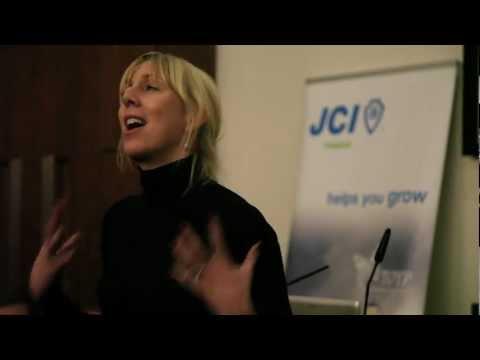 JCI Dublin Leading For Growth Summit 2012 Caroline Casey