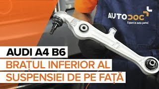 Cum și când se schimba Arc fata spate și față AUDI A4 (8E2, B6): ghid video