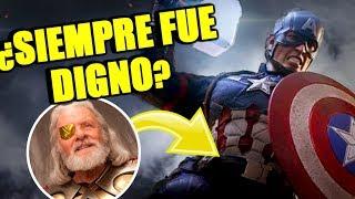 ¿MJOLNIR Y STORMBREAKER? El Capitán América siempre tuvo los poderes de Thor | EXPLICACIÓN