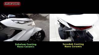 Coating NANO CERAMIC On Honda All New PCX 2018