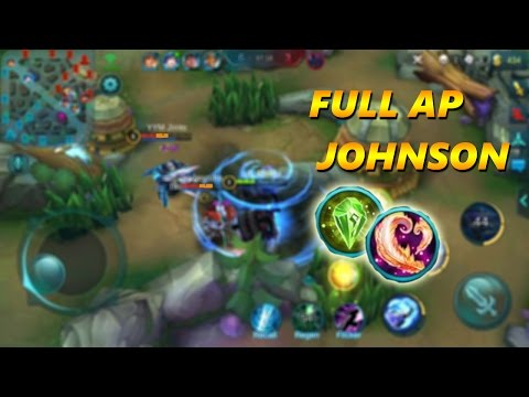 Mobile Legends: INTENSE FULL AP DAMAGE JOHNSON GAMEPLAY