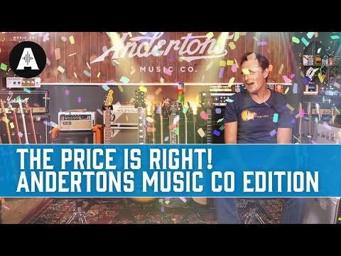The Price is Right - Andertons Music Co Edition!