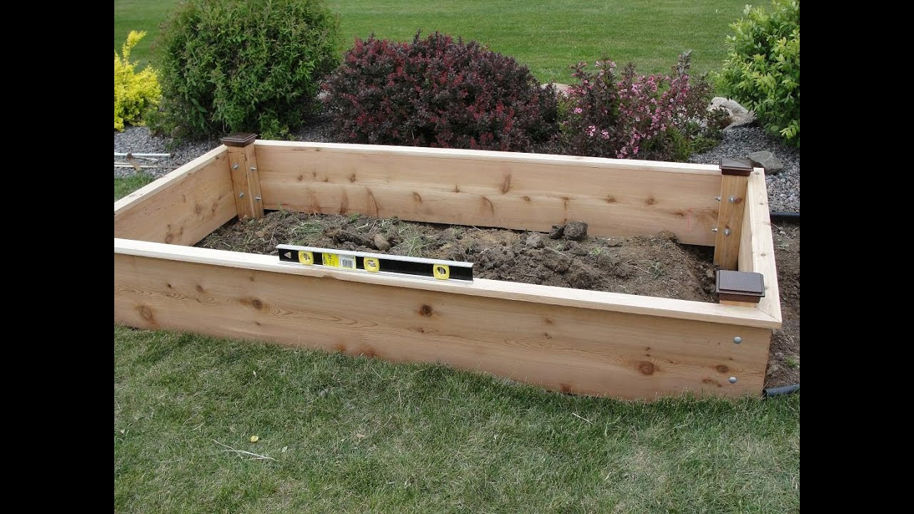 Elevated Garden Beds I Raised Garden Beds Brackets - YouTube