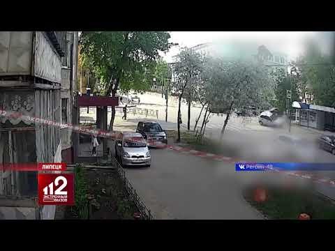 Внедорожник подмял под себя пешехода. Видео!