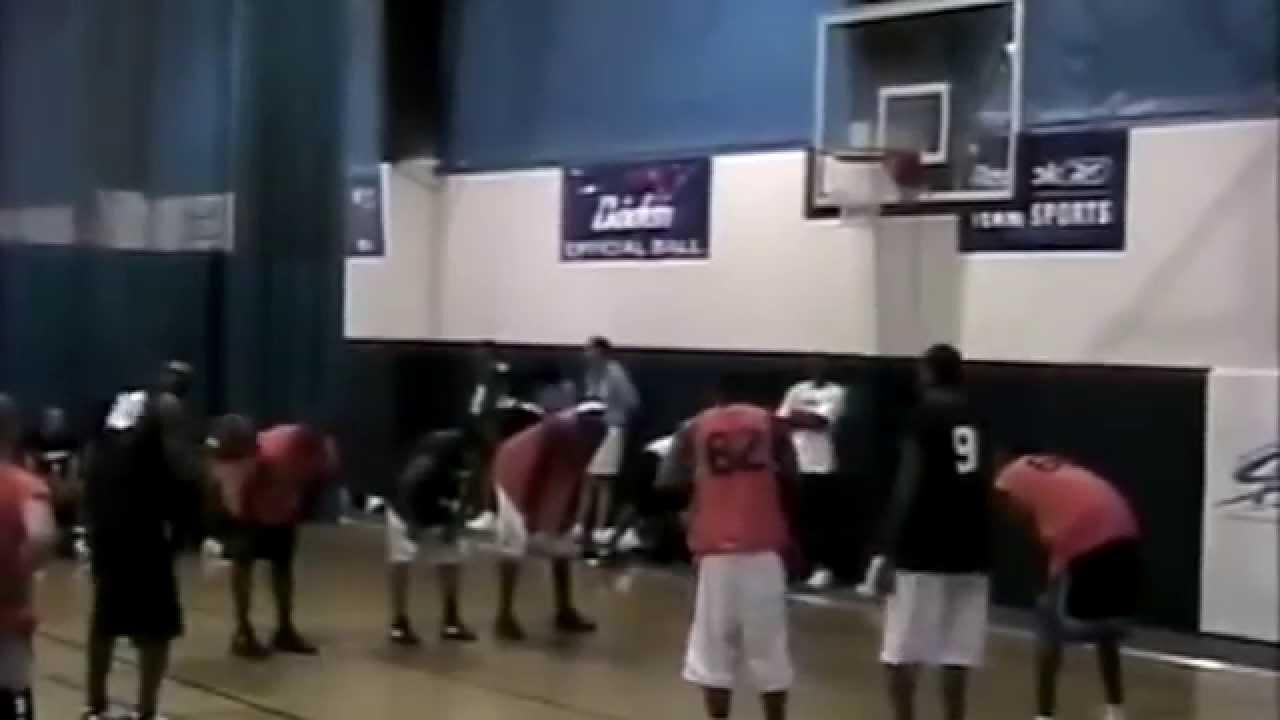 My first pro basketball exposure camp 2005 pt 2 dre baldwin