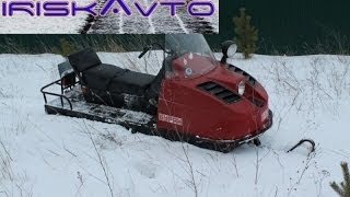 Огляд снігоходи Буран