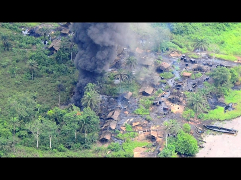 Shell Film About Illegal Oil Refining In The Niger Delta