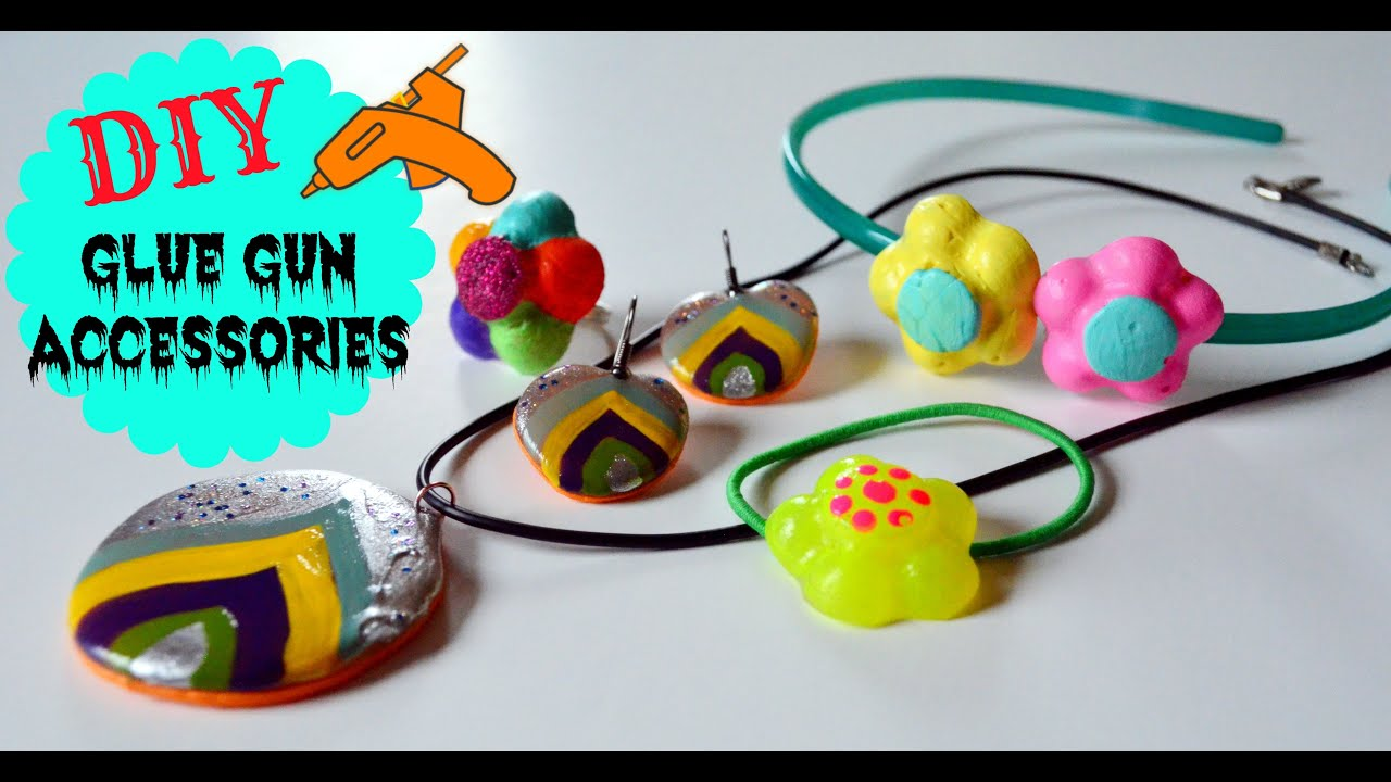 Diy crafts glue gun ornaments accessories youtube for Hot glue guns for crafts