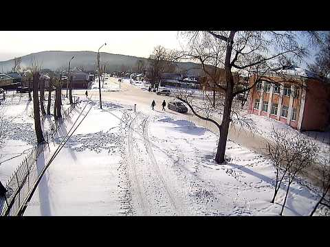 Сотрудники ГИБДД жестоко избили пешехода (Бурятия, Кабанский район, г. Бабушкин) (Видео 1)