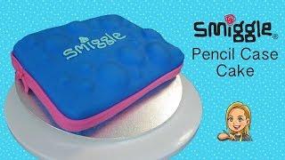 Smiggle Pencil Case Cake - Back to School Cake