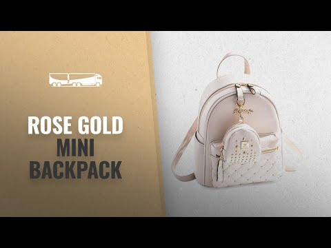 our-favorite-rose-gold-mini-backpack-[2018]:-cute-small-backpack-mini-purse-casual-daypacks-leather