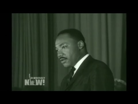 Exclusive: Newly Discovered 1964 MLK Speech on Civil Rights, Segregation & Apartheid South Africa