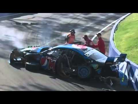 Chaz Mostert Bathurst V8 Supercars Crash