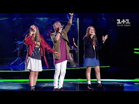 Oleksandr, Angelina, Veronika – 'Oy u hayu pry Dunayu' – The battles – Voice.Kids – season 4