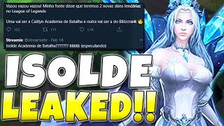 NEW CHAMPION 'ISOLDE' LEAKED!! Viego's Wife + New Legendary Skins - League of Legends