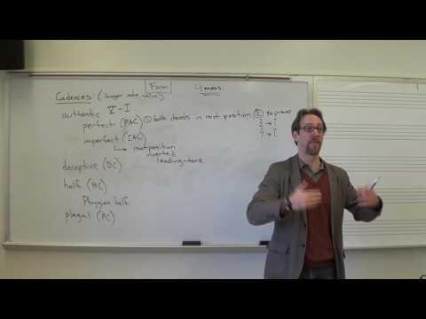 Dr. B Music Theory Lesson 22 (Cadences)