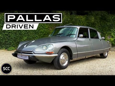 CITROËN DS 20 PALLAS 1973 - Test Drive in top gear | SCC TV
