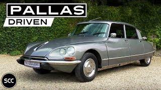 CITROËN DS 20 PALLAS 1973 - Test Drive in top gear - Engine sound | SCC TV