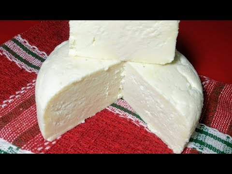 Queso fresco curado (tres ingredientes)