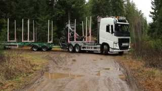 Volvo Timber Trucks in Work!