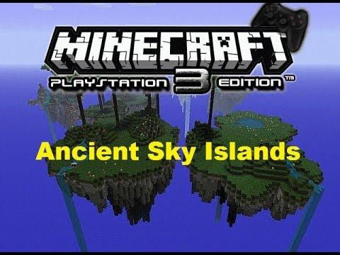 Minecraft Sky Island Map Ps