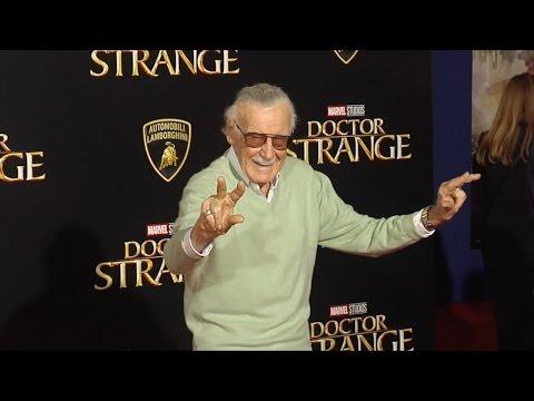 """Stan Lee """"Doctor Strange"""" World Premiere Red Carpet"""