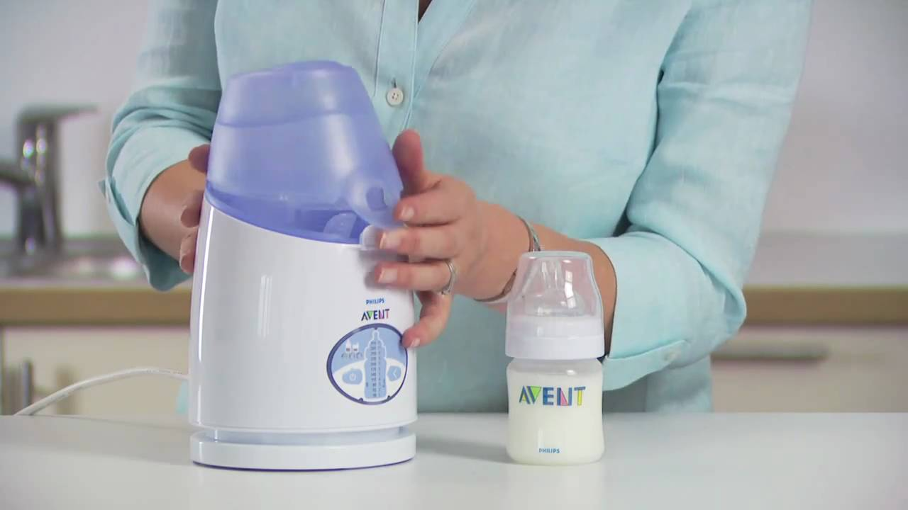 Philips Avent Digital Bottle Warmer Directions For Use