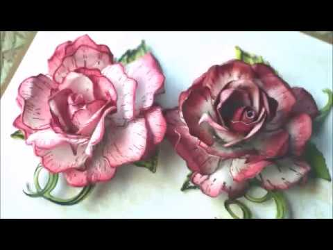 Classic Rose Flower By Heartfelt Creations A Video