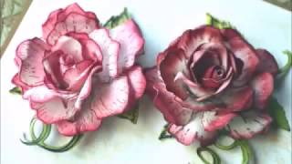 Classic Rose flower by Heartfelt Creations -a video tutorial by Anita Kejriwal