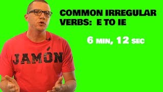 Common Irregular Verbs In Spanish E To Ie