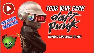 Daft Punk - How to Build Your Own Daft Punk Helmet!
