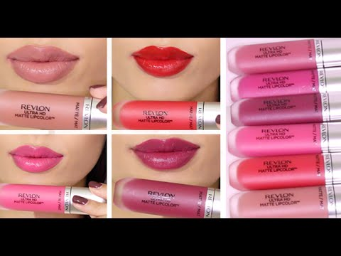 Brand New Revlon Ultra Hd Matte Lip Colors Review Swatches