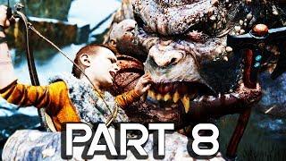 God of War 4 Walkthrough Part 8 - Yeti - GOD OF WAR GAMEPLAY!! (PS4 PRO 60FPS)