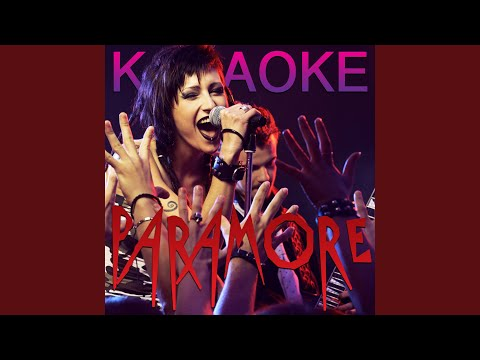 Misery Business (Acoustic Version) (In The Style Of Paramore) (Karaoke Version)
