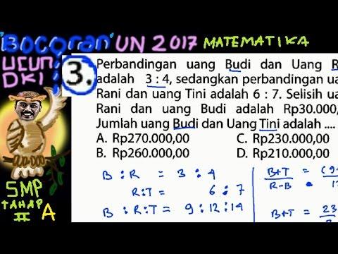 un-smp-2017-matematika,-'bocoran',prediksi,-ucun-dki-tahap-ii-a-no-03,-perbandingan-bertingkat
