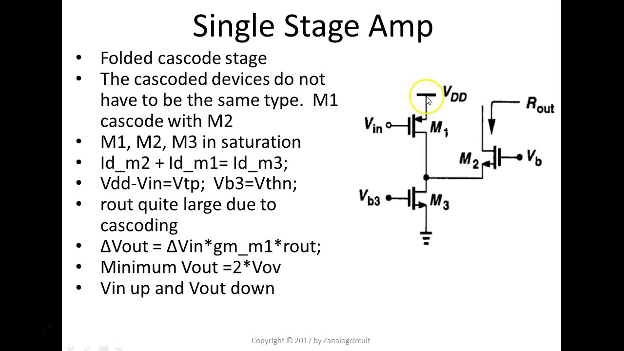 Cascode stage
