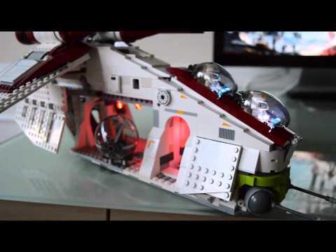 Lego Star Wars Republic Gunship Mods