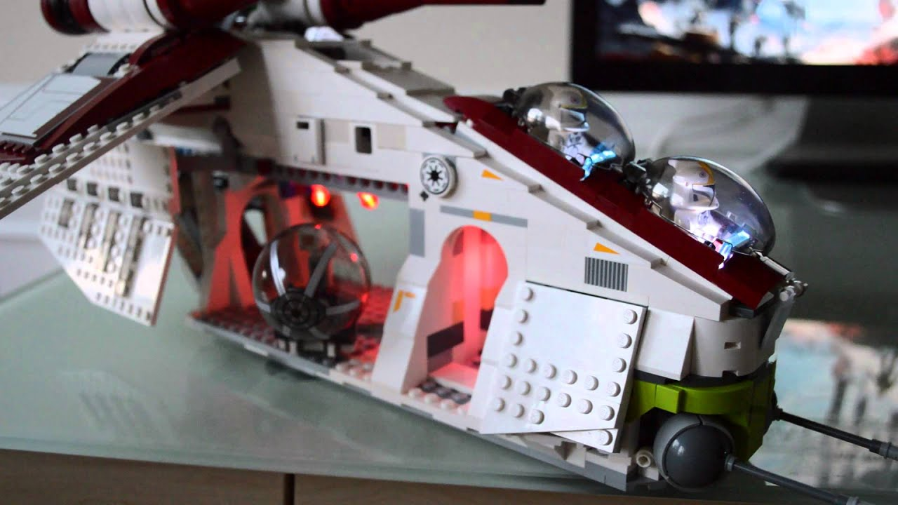 Lego Star Wars Republic Gunship Mods Youtube
