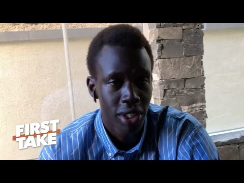 Makur Maker on committing to Howard University & the NBA | First Take