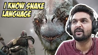 I CAN TALK TO A SNAKE | GOD OF WAR