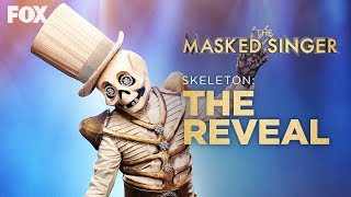 The Skeleton Is Revealed! Who's Behind The Mask? | Season 2 Ep. 4 | THE MASKED SINGER
